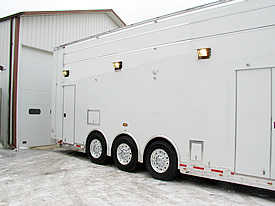 John Benoit 2010 T&E 40' Top Sportsman Trailer