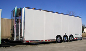 John Benoit 2010 T&E 40' Top Sportsman Trailer - Click to Launch Photo Gallery