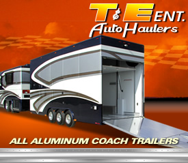 Coach Trailers by T and E Auto Haulers
