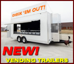 T&E Custom Built Vending Trailers