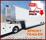 Rico Abreu - T&E Sprint Car Trailer
