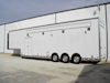 Gavranich/Keneric T&E Sprint Racing Semi Trailer - Exterior View