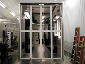 T&E Enterprises Australian Export Trailers - Custom Aluminum Rear Bi-Fold Doors