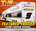 T&E Sprint Car Trailers - Kasey Kahne Racing Feature