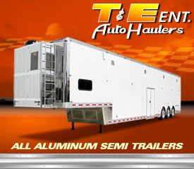 All Aluminum Semi Trailers by T and E Auto Haulers