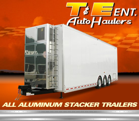Stacker Trailers by T and E Auto Haulers